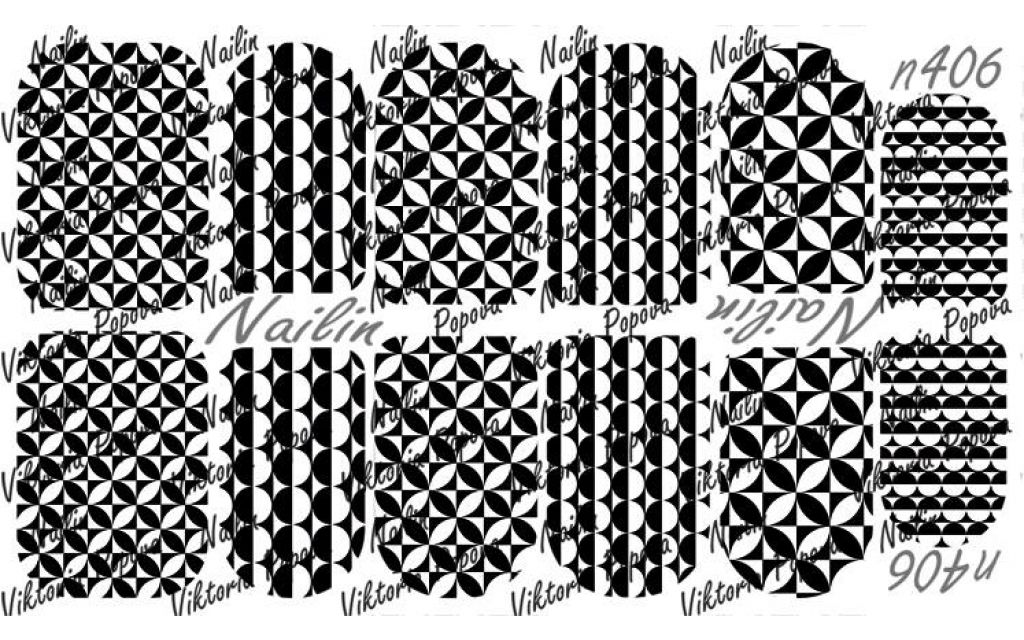 Nailin Wrap design 406
