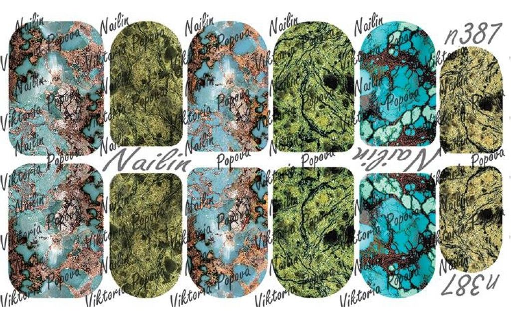 Nailin Wrap design 387