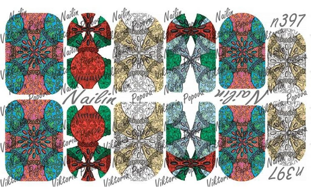Nailin Wrap design 397