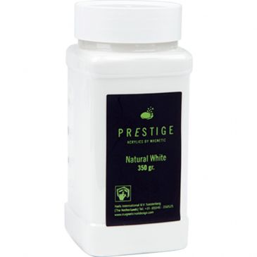 Prestige Acryl Powder Natural White 350 gr.