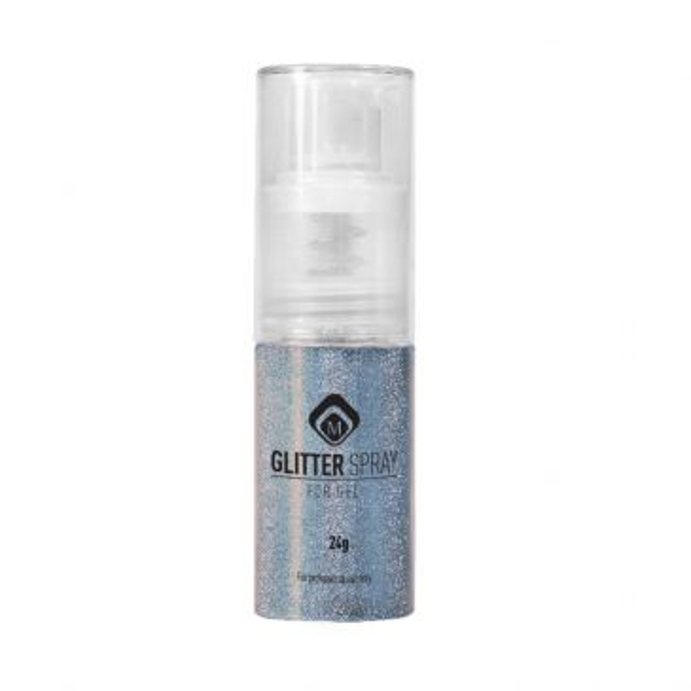 Glitterspray Steel Grey