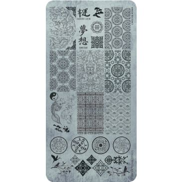 Magnetic Stamping Plate - Asian Style
