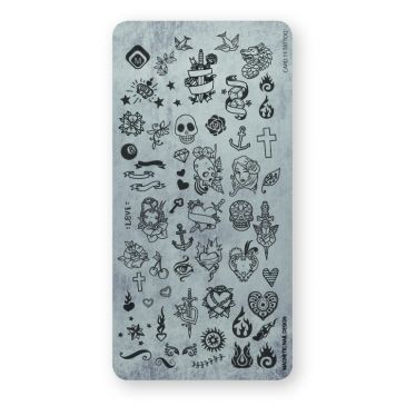 Magnetic Stamping Plate - Tattoo