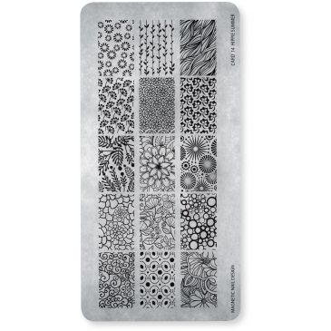 Magnetic Stamping Plate - Hippie Summer