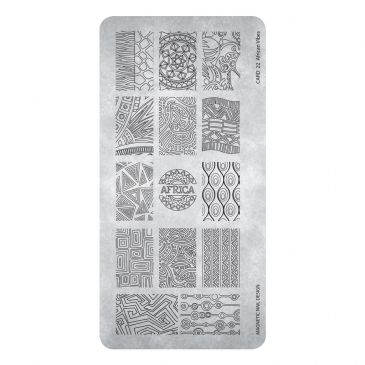 Magnetic Stamping Plate - African Vibes