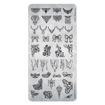 Magnetic Stamping Plate - 31 Masquerde