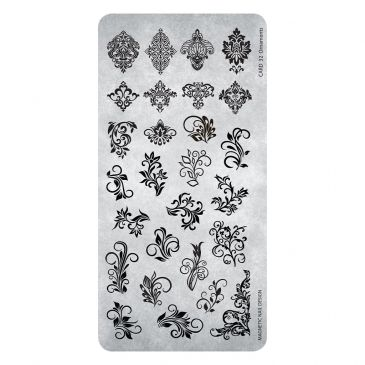 Magnetic Stamping Plate - Ornaments