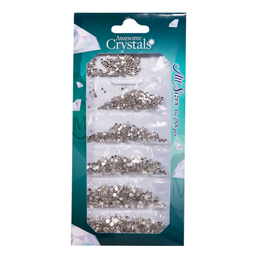 Awesome Crystals 6 sizes - Clear