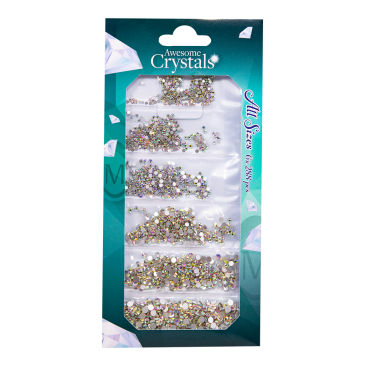 Awesome Crystals 6 sizes - Ice