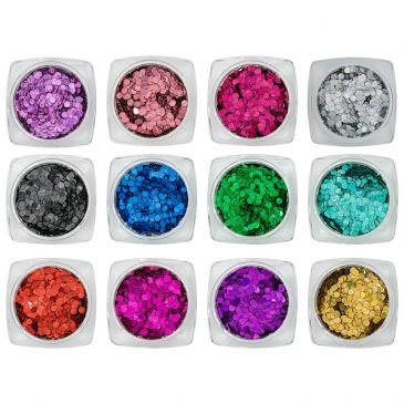 Magnetic Confetti Laser Collection