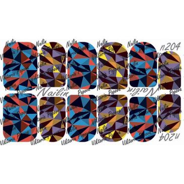 Nailin Wrap design 204