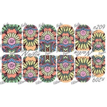 Nailin Wrap design 209
