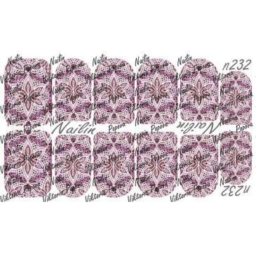 Nailin Wrap design 232