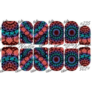 Nailin Wrap design 235