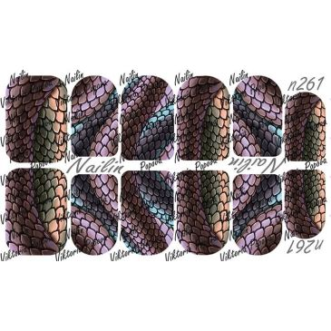 Nailin Wrap design 261
