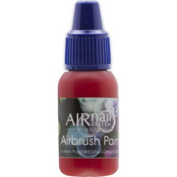 Airbrush Paint Red 3