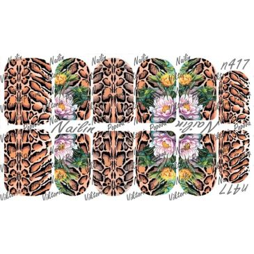 Nailin Wrap design 417