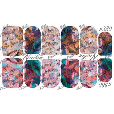Nailin Wrap design 380