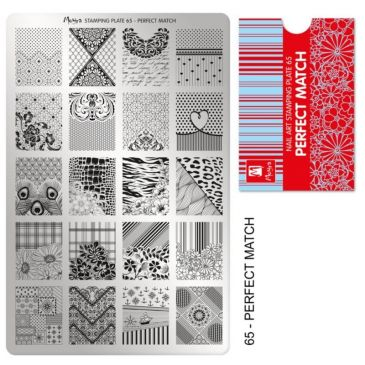 Moyra Stamping Plate 65 Perfect Match