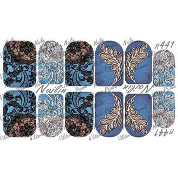 Nailin Wrap design 441