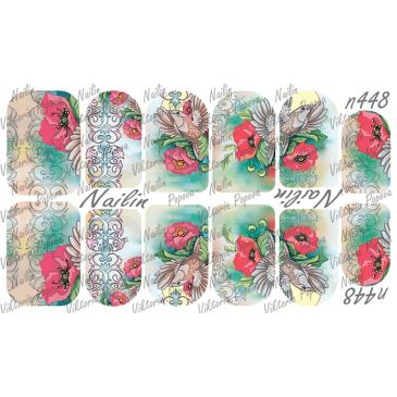 Nailin Wrap design 448