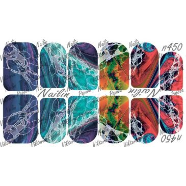 Nailin Wrap design 450