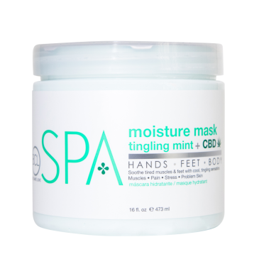 Moisture Mask Tingling Mint+CBD 473 ml.