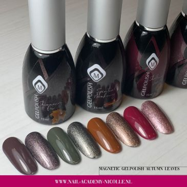Gelpolish Collectie 'Autumn Leaves'