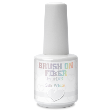 Brush on Fiber | Silk White 15 ml.