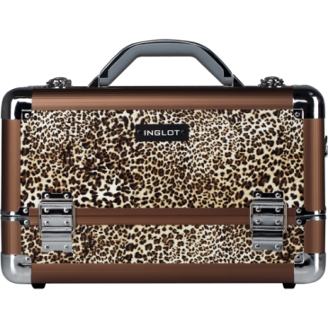 Make-up Case Leopard Leather