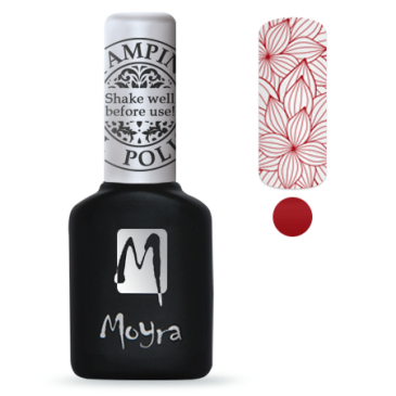Moyra Stamping Gelpolish Red 06