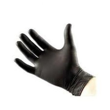 Soft Nitril Gloves Black 100 pcs