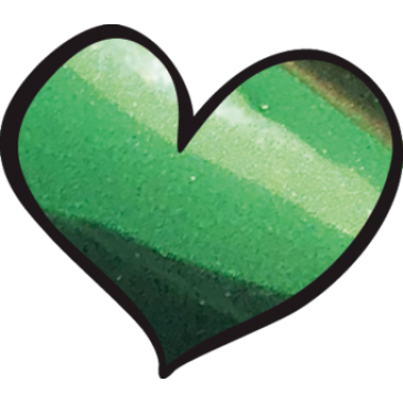 Loveness Chrome Green Pigment