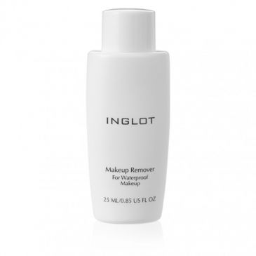 Inglot Makeup Remover for Waterproof Makeup Travel Size 25 ml