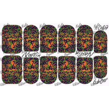 Nailin Wrap design 049