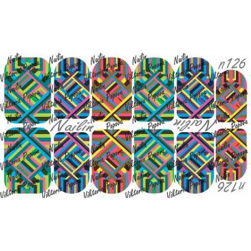 Nailin Wrap design 126