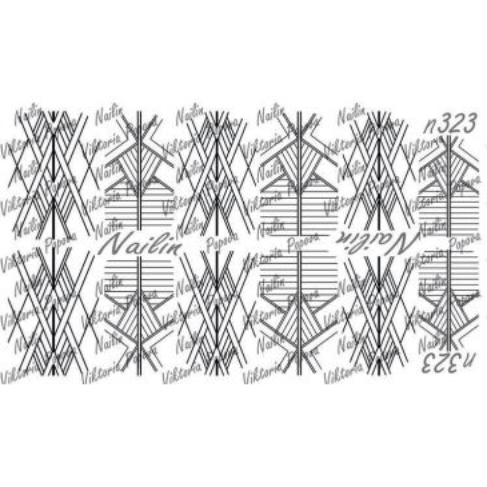 Nailin Wrap design 323