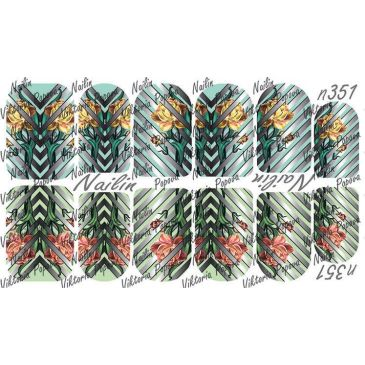 Nailin Wrap design 351