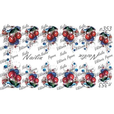 Nailin Wrap design 353