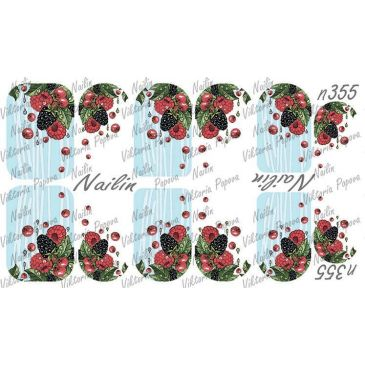 Nailin Wrap design 355
