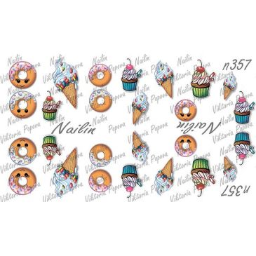 Nailin Wrap design 357