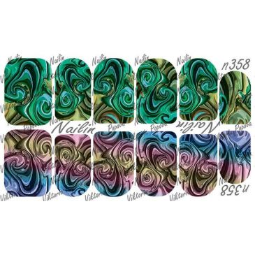 Nailin Wrap design 358