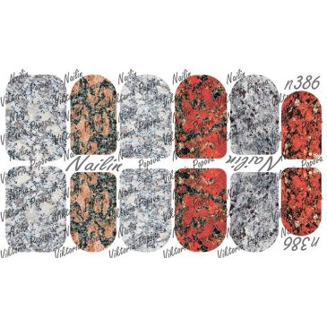 Nailin Wrap design 386