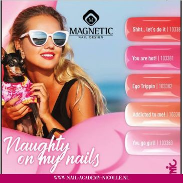 Magnetic Gelpolish Collectie 'Naugthy on my Nails'