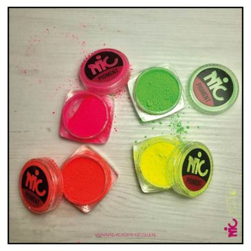 NIC Neon pigment Collection 4 pcs.