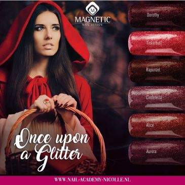 Magnetic Gelpolish Collectie 'Once Upon a Glitter'