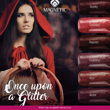 Magnetic Once Upon a Glitter Limited Edition 5 pcs