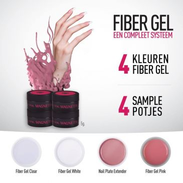 Sample Kit Magnetic Fiber Gels