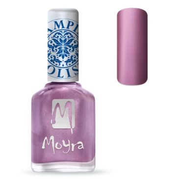 Moyra Stamping Nail Polish 10 Metal Rose
