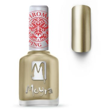 Moyra Stamping Nail Polish 24 Chrome Gold